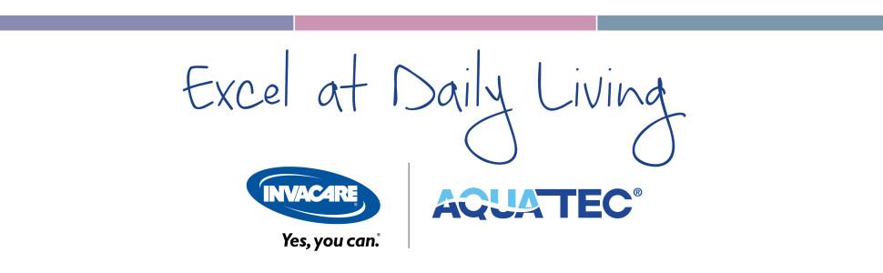 Invacare Aquatec Excel at Daiky Living