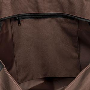 Innentaschen mit Reißverschluss
