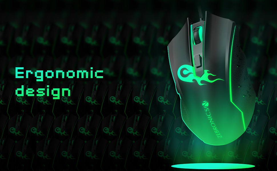 USB Gaming Mouse,zebronics gamimg mouse,Premium USB Gaming Mouse,Zeb Clash USB Gaming Mouse