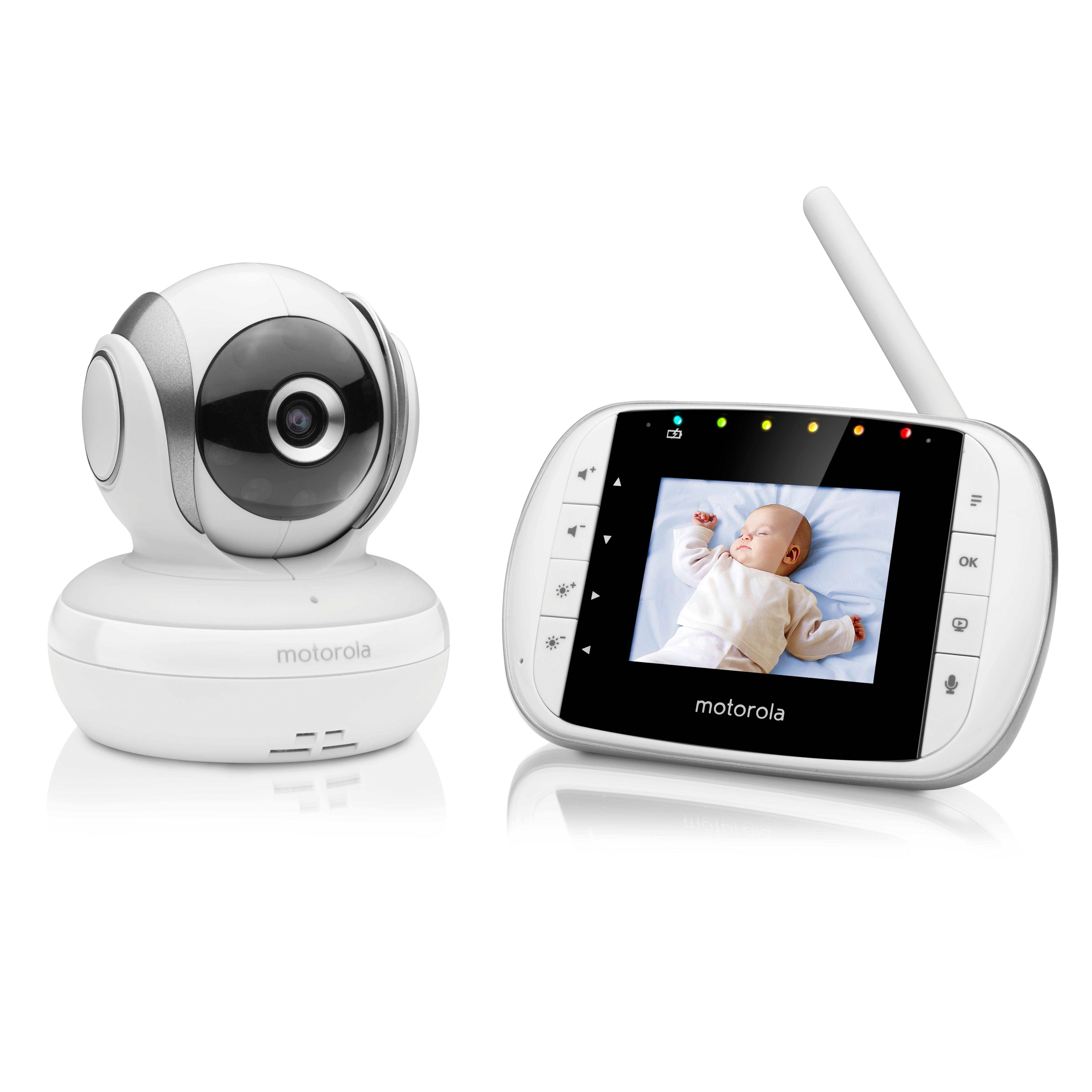 motorola baby mbp 33s video babyphone wireless baby berwachungskamera temperatursensor und. Black Bedroom Furniture Sets. Home Design Ideas
