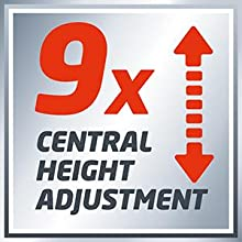 central height adjustment