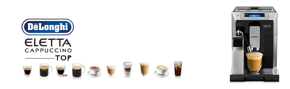 ECAM45760B; Eletta Capuccino; DeLonghi Coffee Machines