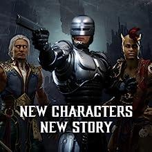 New Characters RoboCop Fujin Shiva