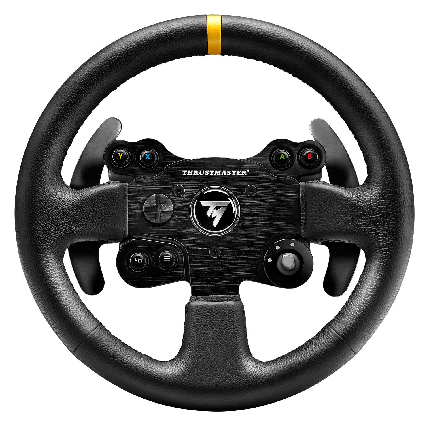 thrustmaster tx rw volante leather edition xbox one pc. Black Bedroom Furniture Sets. Home Design Ideas