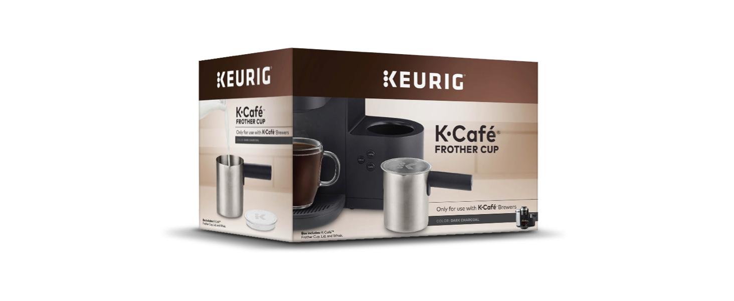keurig, k café, k-café, kcafe, milk frother, frother, milk warmer, milk steamer, coffee frother