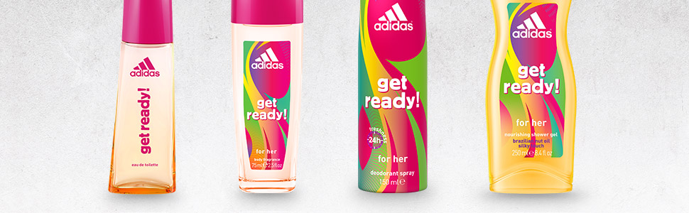 Get Ready For Her Deodorant Spray by adidas | parfumdreams