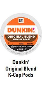 Dunkin' Original Blend K Cups