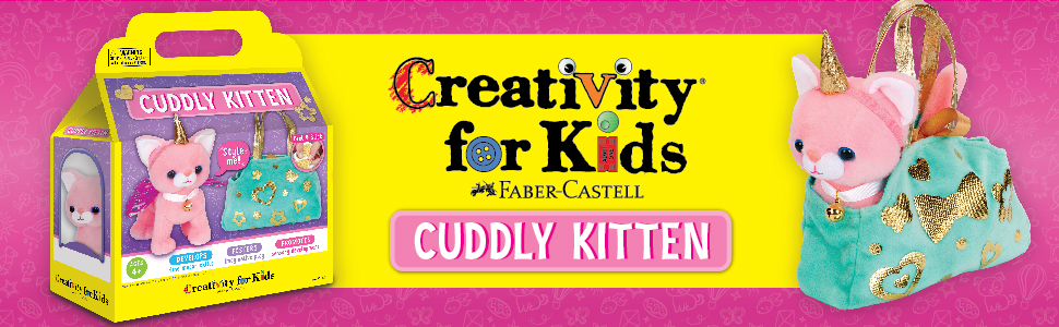 cuddly kitten, cat toys for kids, gifts for girls, gifts for girls age 4, girls gifts, kitty toys