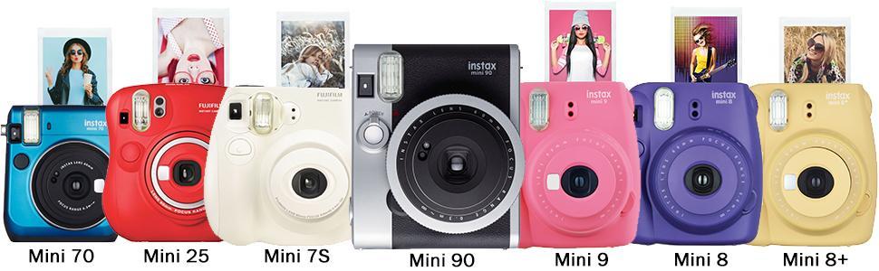 Fujifilm; tax Instant Movie Mini 8; Mini 9; Mini Twin Room Mini 25; Mini 90; Mini 70; Fuji Polaron