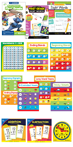 first grade learning bundle