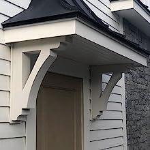 porch corbels, exterior grade brackets, roof brackets, decorative corbels