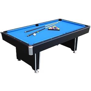 Mightymast Leisure Ft CALLISTO Professional Deluxe American Pool - 7 ft billiard table