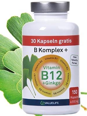 AUSVERKAUF Vitamin B Komplex: Alle 8 Vitamine der B-Gruppe
