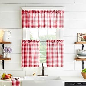 Farmhouse Living Window Kitchen Tiers