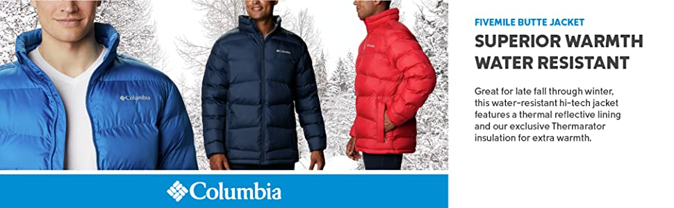 Columbia Mens Fivemile Butte Jacket