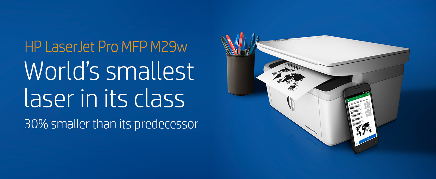 HP LaserJet Pro M29w Wireless All-in-One Laser Printer (Y5S53A)
