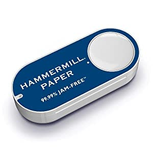 Amazon dash button, Hammermill, printer paper