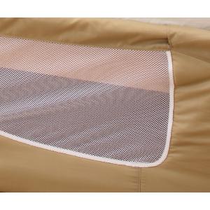 ベビー ベッドフェンス ベッド SG 通気性 メッシュ ネット 布製 クッション ソフト ガード