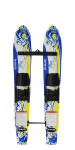 steady eddy water ski, water ski, beginner ski, stable ski, water sports, rave sports