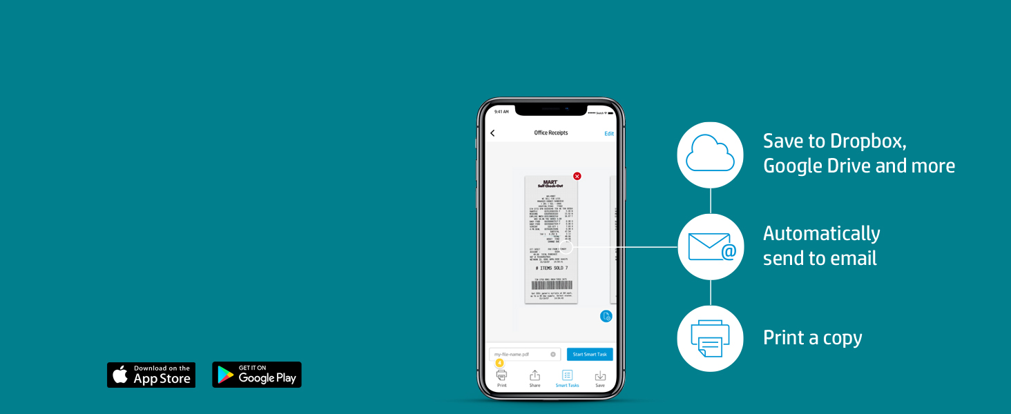 scan documents receipts contract automatically upload