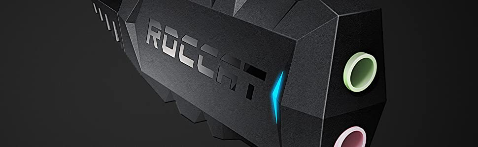 Amazon Com Roccat Juke Virtual 7 1 Plus Usb Stereo Soundcard And Headset Adapter Computers Accessories