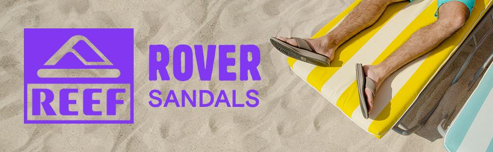 REEF Men's Rover Athletic Beach Sandals