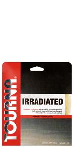 irradiated tennis string