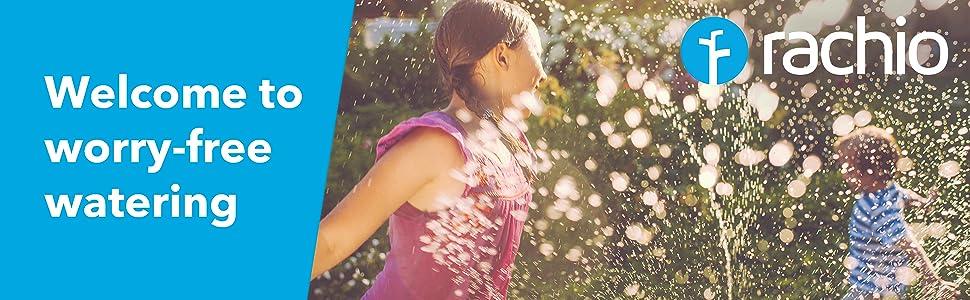 Rachio automatic rain skip smart sprinkler controller