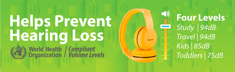 prevent hearing loss;four levels