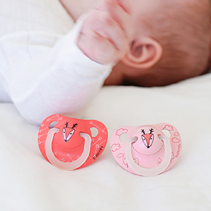 Suavinex - Pack 2 chupetes Nocturnos para bebés 6-18 meses. con ...