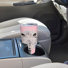 stainless steel tumblers;commuter cups that;fit in cup holders;don't sweat;hot;cold