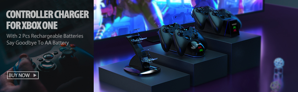 xbox one controller charger banner