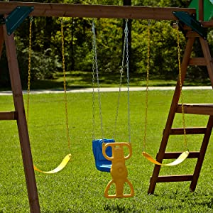 Amazon Com Wind Rider Glider Swing Toys Games