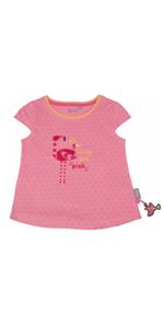 Sigikid - Camiseta de verano, diseño de flamencos, color rosa
