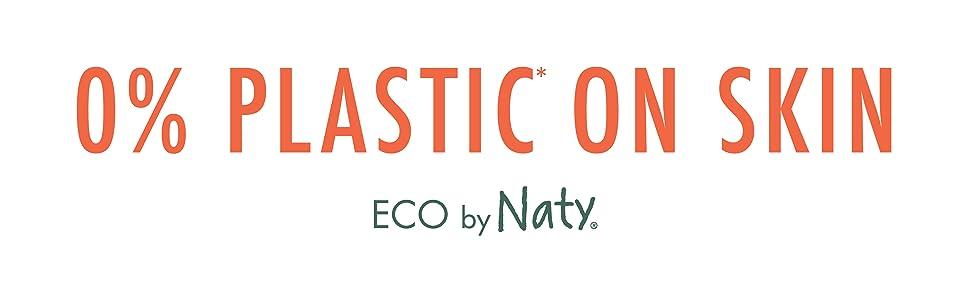 0% plastic, naty, eco