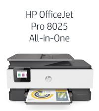 HP OfficeJet Pro 8025 All-in-One Wireless Printer - Best