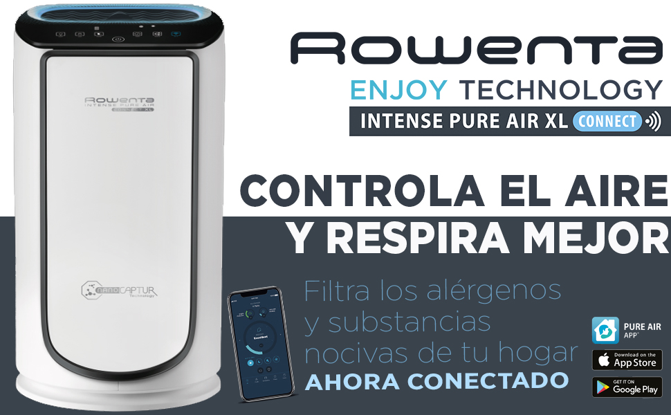Rowenta PU6080F0 Intense Pure Air Connect XL - Purificador de Aire ...