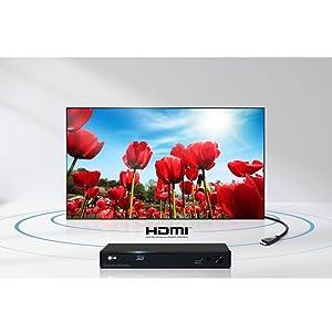 HDMI für hochqualitative Audio- und Videowiedergabe