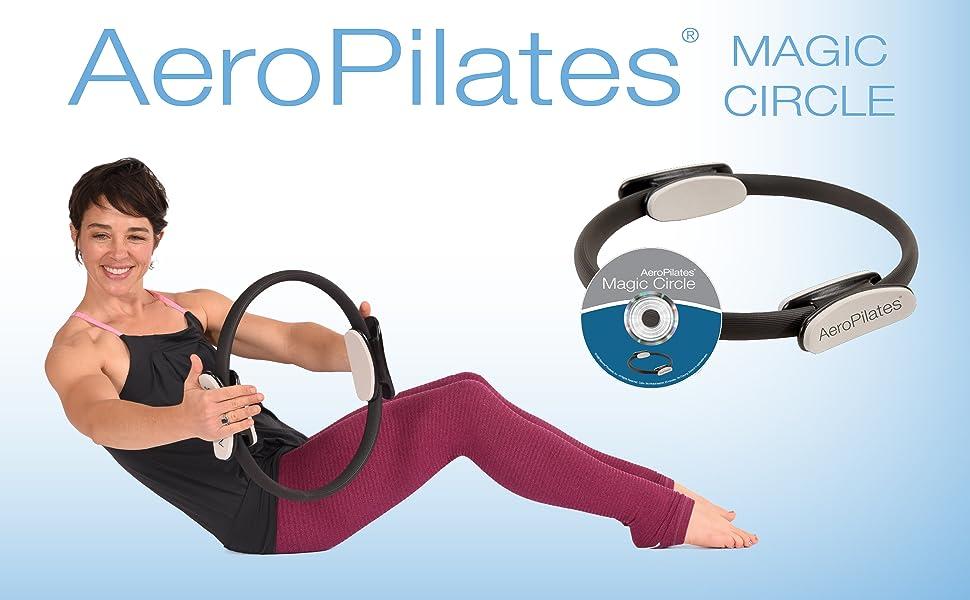 Zinniaya Anneau de Pilates Magic Circle Double Grip Sports Goods Yoga Exercice Fitness