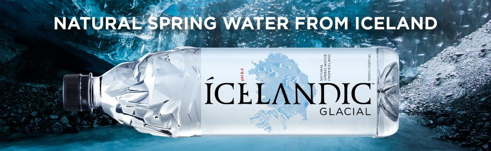 Amazon icelandic glacial natural spring water 1 liter 12 icelandic glacial iceland water natural spring water ph neutral alkaline iceland bottled water sciox Gallery