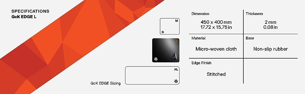 qck edge xlarge mousepad