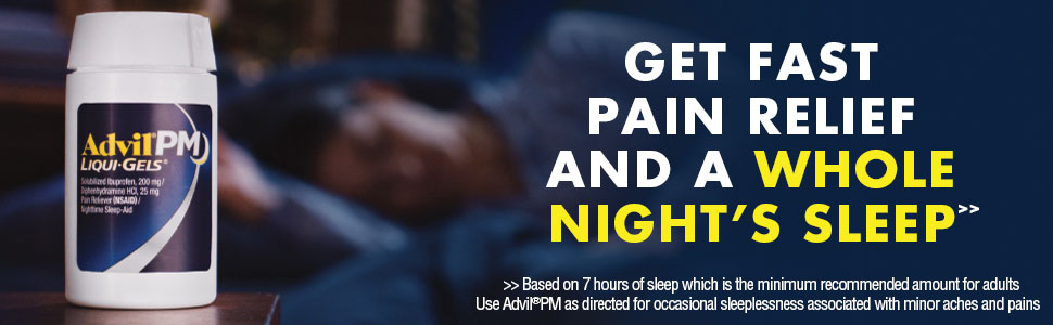 advil pm pain reliever