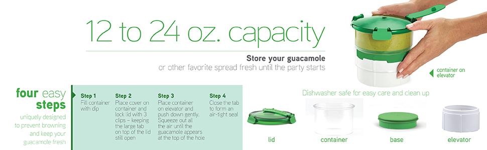 guacamole avocado superbowl guac lock salsa chips guacamole keeper