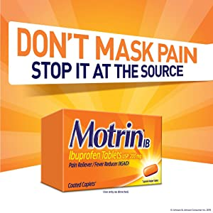 MOTRIN: Don't mask the pain - stop it at the source