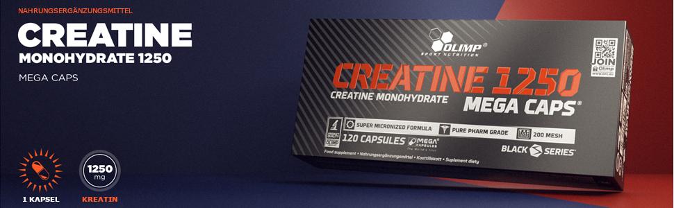 Olimp Kapseln Creatine 1250 Mega Caps, 120 Kapseln, 24748: Amazon.de: Drogerie & Körperpflege