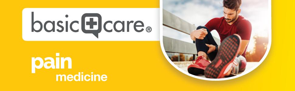basic care pain medicine banner