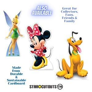 Minnie Mouse Pluto Campanilla de cartón recortado
