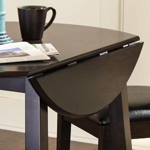 Amazoncom Ashley Furniture Signature Design Larchmont Dining - Dining room tables with leaves