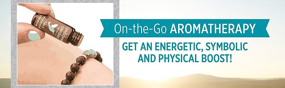 On-the-go aromatherapy