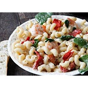 Recipe Idea: Four Cheese Pasta with Shrimp & Spinach